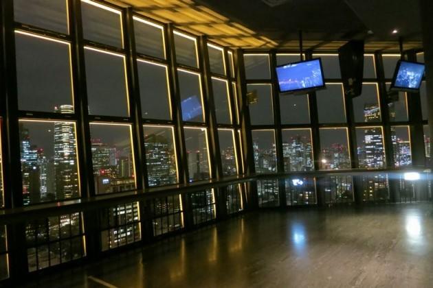 東京タワー大展望室